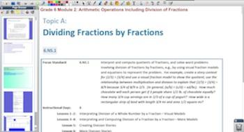 Engage NY Eureka Math 6th Grade Math Module 2 for Promethean Boards
