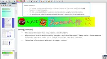 Engage NY Eureka Math 6th Grade Math Module 3 Topic C for Promethean Boards