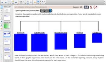 Engage NY Eureka Math 6th Grade Math Module 4 Topic E for Smartboards