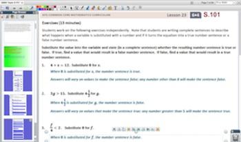 Engage NY Eureka Math 6th Grade Math Module 4 Topic G for Promethean Boards