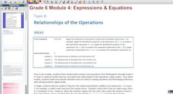 Engage NY Eureka Math 6th Grade Math Module 4 for Promethe
