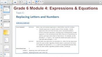 Engage NY Eureka Math 6th Grade Math Module 4 for Smartboards