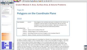 Engage NY Eureka Math 6th Grade Math Module 5 for Promethean Boards