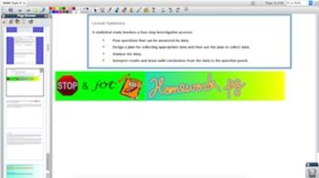 Engage NY Eureka Math 6th Grade Math Module 6 Topic D for Promethean Boards