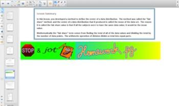 Engage NY Eureka Math 6th Grade Math Module 6Topic B for Smartboards