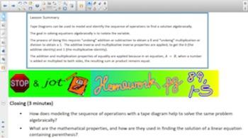 Engage NY Eureka Math 7th Grade Math Module 2 Topic C for Smartboards