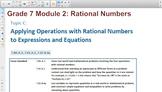 Engage NY Eureka Math 7th Grade Math Module 2 Topic C for