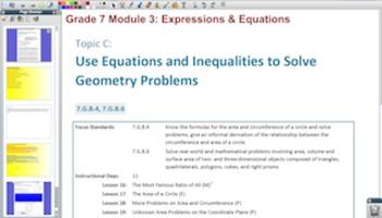 Engage NY Eureka Math 7th Grade Math Module 3 Topic C for Promethean Boards
