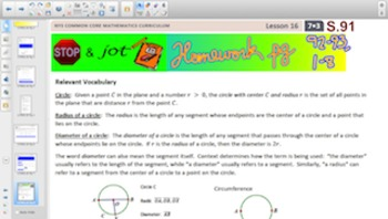 Engage NY Eureka Math 7th Grade Math Module 3 Topic C for Smartboards