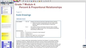 Engage NY Eureka Math 7th Grade Math Module 4 Topic C for Promethean Boards