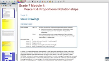 Engage NY Eureka Math 7th Grade Math Module 4 for Promethean Boards