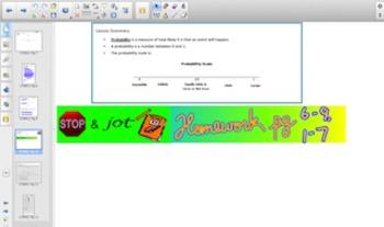 Engage NY Eureka Math 7th Grade Math Module 5 Topic A for Smartboards