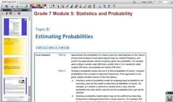 Engage NY Eureka Math 7th Grade Math Module 5 Topic B for Promethean Boards