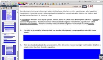Engage NY Eureka Math 7th Grade Math Module 5 Topic C for Promethean Boards