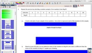 Engage NY Eureka Math 7th Grade Math Module 5 Topic D for Promethean Boards