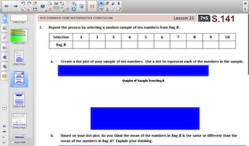 Engage NY Eureka Math 7th Grade Math Module 5 Topic D for Smartboards