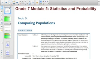 Engage NY Eureka Math 7th Grade Math Module 5 Topic D for