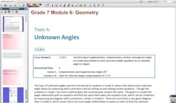 Engage NY Eureka Math 7th Grade Math Module 6 Topic A for Promethean Boards