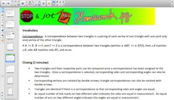 Engage NY Eureka Math 7th Grade Math Module 6 Topic B for Smartboards