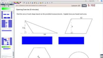 Engage NY Eureka Math 7th Grade Math Module 6 Topic D for Promethean Boards