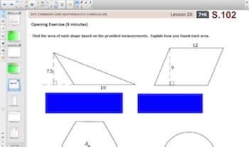 Engage NY Eureka Math 7th Grade Math Module 6 Topic D for Smartboards