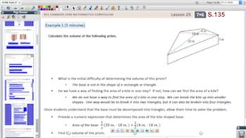 Engage NY Eureka Math 7th Grade Math Module 6 Topic E for Promethean Boards