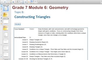 Engage NY Eureka Math 7th Grade Math Module6 for Smartboards