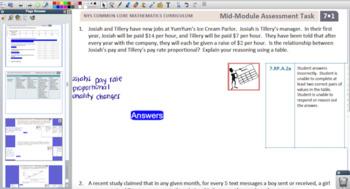 Engage NY Eureka Math 7th Grade Math for Promethean Boards