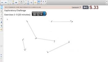 Engage NY Eureka Math 8th Grade Math Module 2 Topic B for Smartboards
