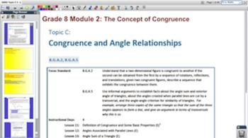 Engage NY Eureka Math 8th Grade Math Module 2 Topic C for Promethean Boards