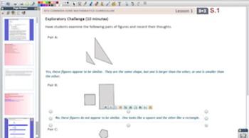 Engage NY Eureka Math 8th Grade Math Module 3 Topic A for Promethean Boards