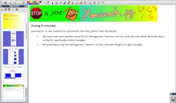 Engage NY Eureka Math 8th Grade Math Module 3 Topic C for Promethean Boards