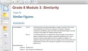 Engage NY Eureka Math 8th Grade Math Module 3 Topic C for Smartboards