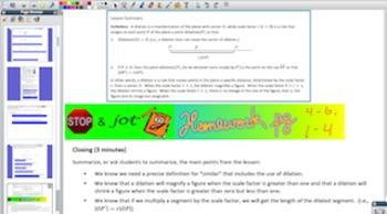 Engage NY Eureka Math 8th Grade Math Module 3 for Promethe