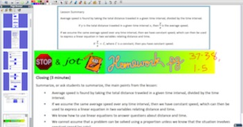 Engage NY Eureka Math 8th Grade Math Module 4 Topic B for Promethean Boards