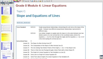 Engage NY Eureka Math 8th Grade Math Module 4 Topic C for