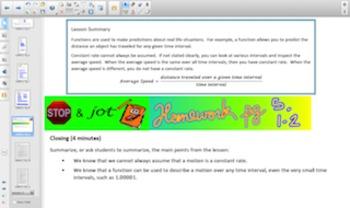 Engage NY Eureka Math 8th Grade Math Module 5 Topic A for Smartboards