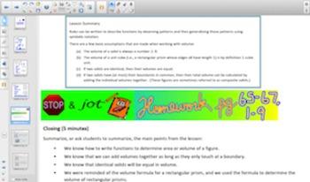 Engage NY Eureka Math 8th Grade Math Module 5 Topic B for Smartboards