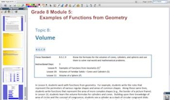 Engage NY Eureka Math 8th Grade Math Module 5 for Promethean Boards