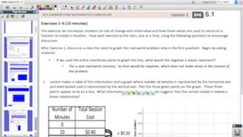 Engage NY Eureka Math 8th Grade Math Module 6 Topic A for Promethean Boards