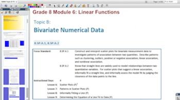Engage NY Eureka Math 8th Grade Math Module 6 Topic B for Promethean Boards