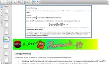 Engage NY Eureka Math 8th Grade Math Module 7 Topic B for Smartboards