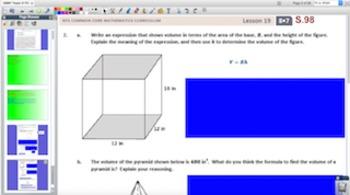 Engage NY Eureka Math 8th Grade Math Module 7 Topic D for Promethean Boards