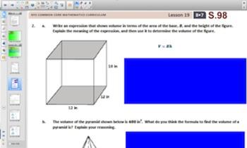 Engage NY Eureka Math 8th Grade Math Module 7 Topic D for Smartboards