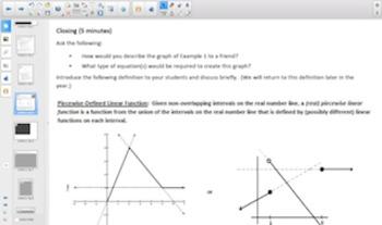 Engage NY Eureka Math Algebra 1 Module 1 Topic A for Smartboards