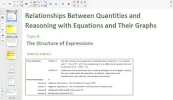 Engage NY Eureka Math Algebra 1 Module 1 for Smartboards
