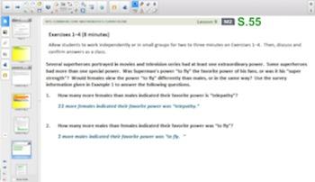 Engage NY Eureka Math Algebra 1 Module 2 Topic C for Smartboards