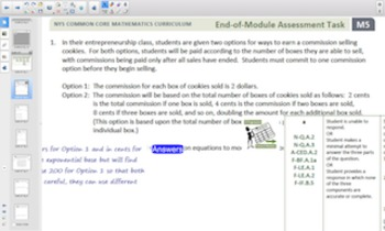 Engage NY Eureka Math Algebra 1 Module 5 for Smartboards