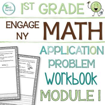 Engage NY/Eureka Math Application Problem Workbook 1st Grade Module 1