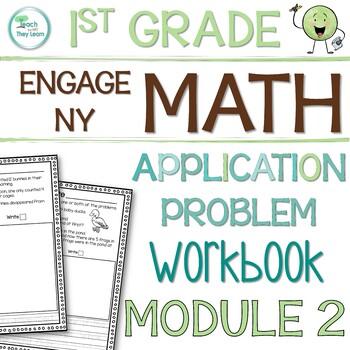 Engage NY/Eureka Math Application Problem Workbook 1st Grade Module 2